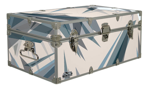 Designer Trunk - Sharp Geometry - 32x18x13.5"
