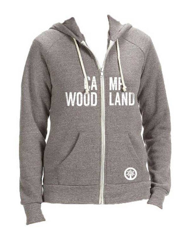 Camp Woodland Alternative Zip Hoodie