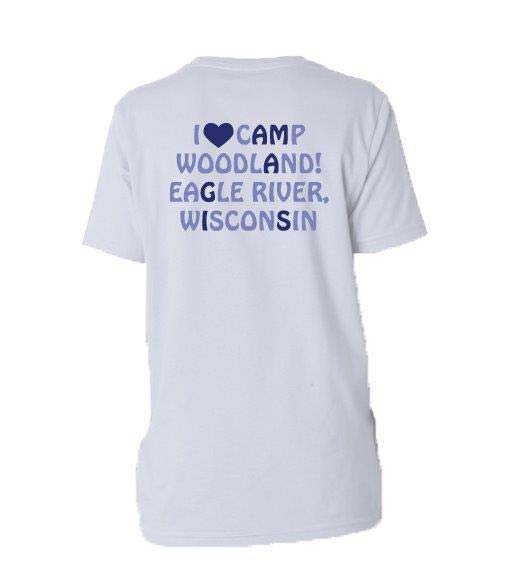 REQUIRED: Camp Woodland Amigas Tee