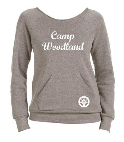 Camp Woodland Slouchy Crew Sweatshirt