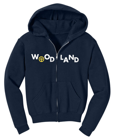 Camp Woodland Toddler Zip Hoodie