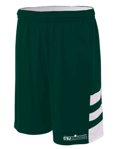 Camp Young Judaea Midwest Reversible Basketball Shorts