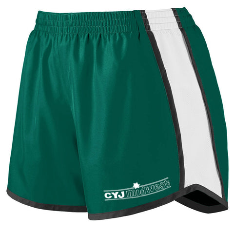 Camp Young Judaea Midwest Girls Running Shorts