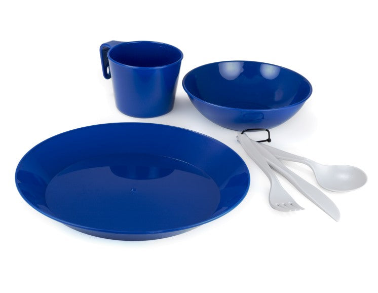 GSI Outdoors Cascadian 6 Piece Tableware Set