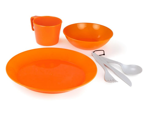 GSI Outdoors Cascadian 6 Piece Tableware Set|12923