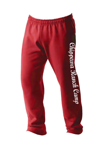 Chippewa Ranch Camp Open Bottom Sweatpants