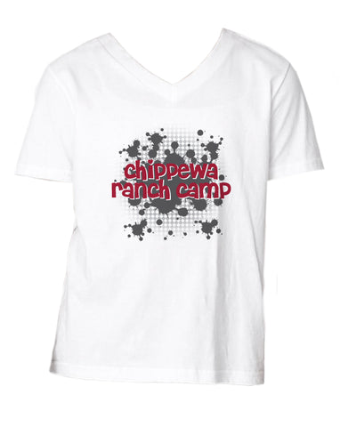 Chippewa Ranch Camp V-Neck Tee