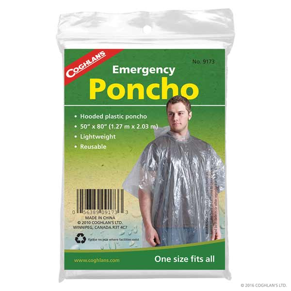 Coghlans® Adult Emergency Poncho