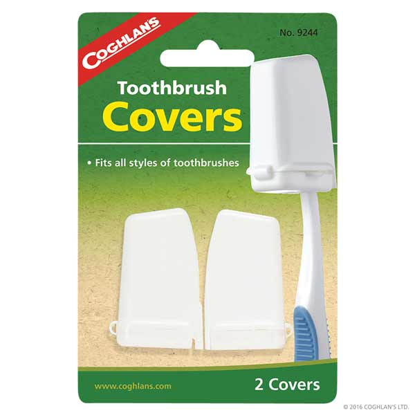Coghlans® Toothbrush Covers 2-pack