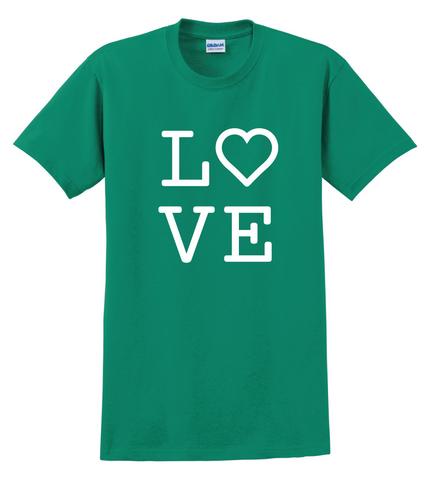 Color War Love Tee|70762|70763|70764|70765|70766|70767|70768