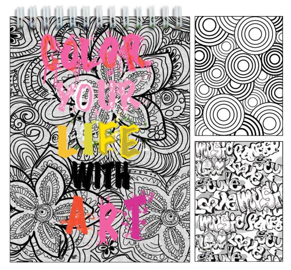Color Your Life Activity Book