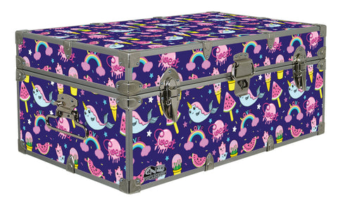 Designer Trunk - Narwhal - 32x18x13.5""
