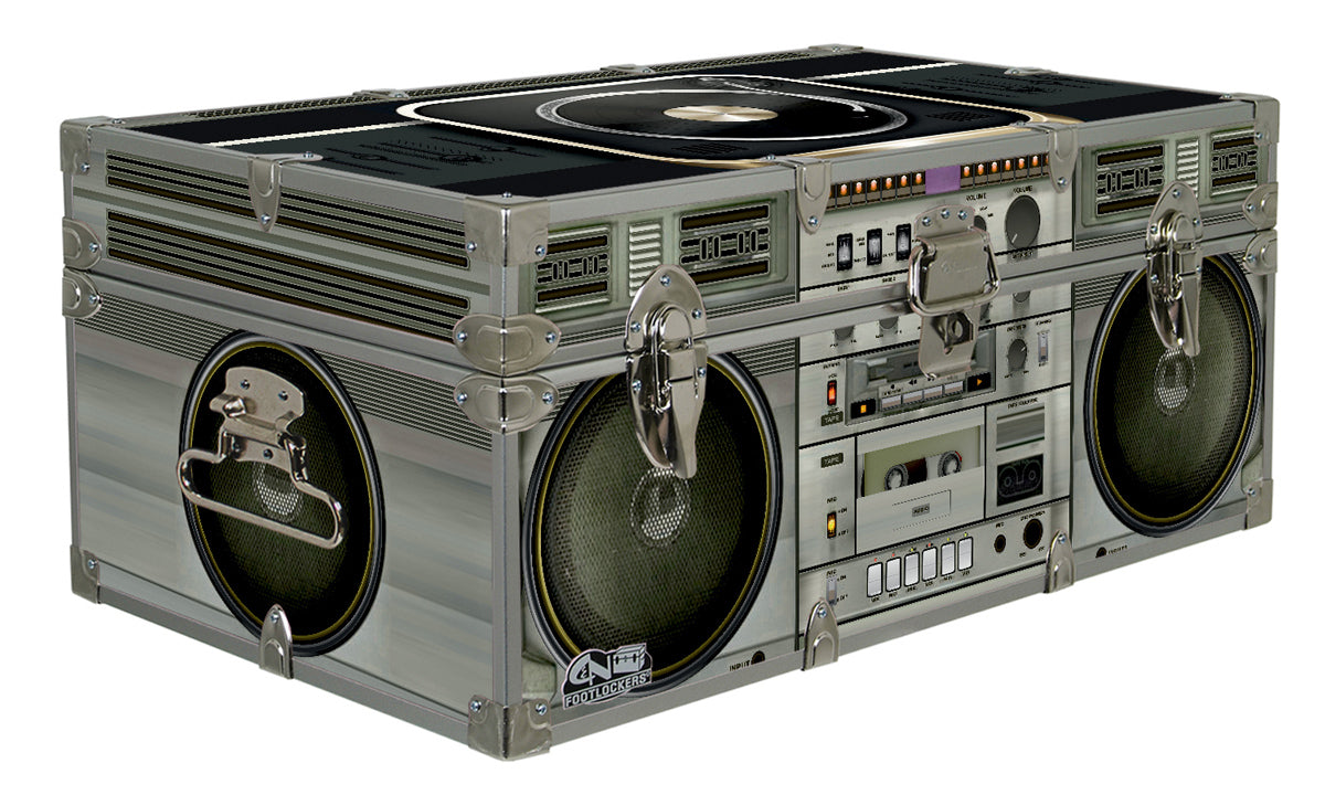 Designer Trunk - Turntable Boombox - 32x18x13.5""