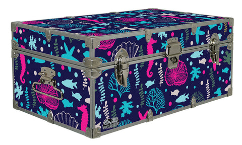 Designer Trunk - Under the Sea - 32x18x13.5""