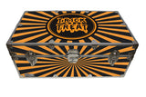 Halloween Decoration Storage Footlocker Trunk - Trick or Treat - 32 x 18 x 13.5 Inches