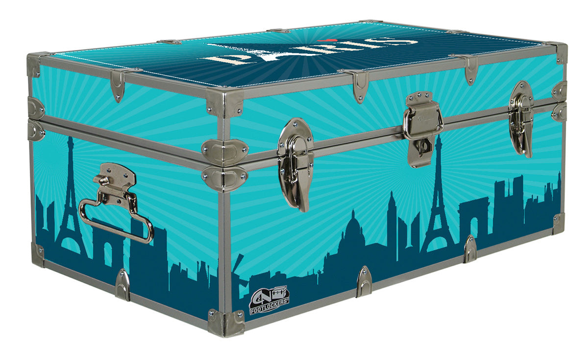 Designer Trunk - Paris - 32x18x13.5""