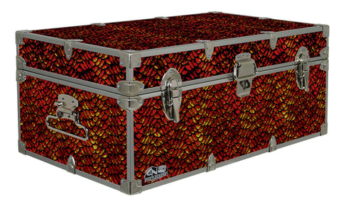 Designer Trunk - Dragon Scales - 32x18x13.5"