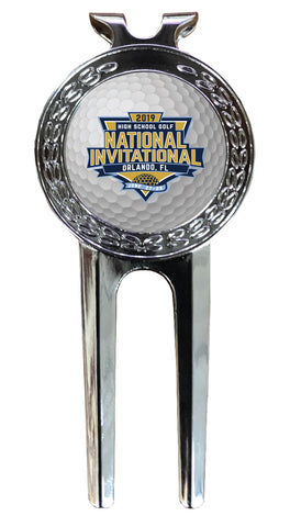 NHSGA Divot Tool w/Removable Ball Marker