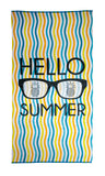 Everything Summer Camp Graphic Beach Towel