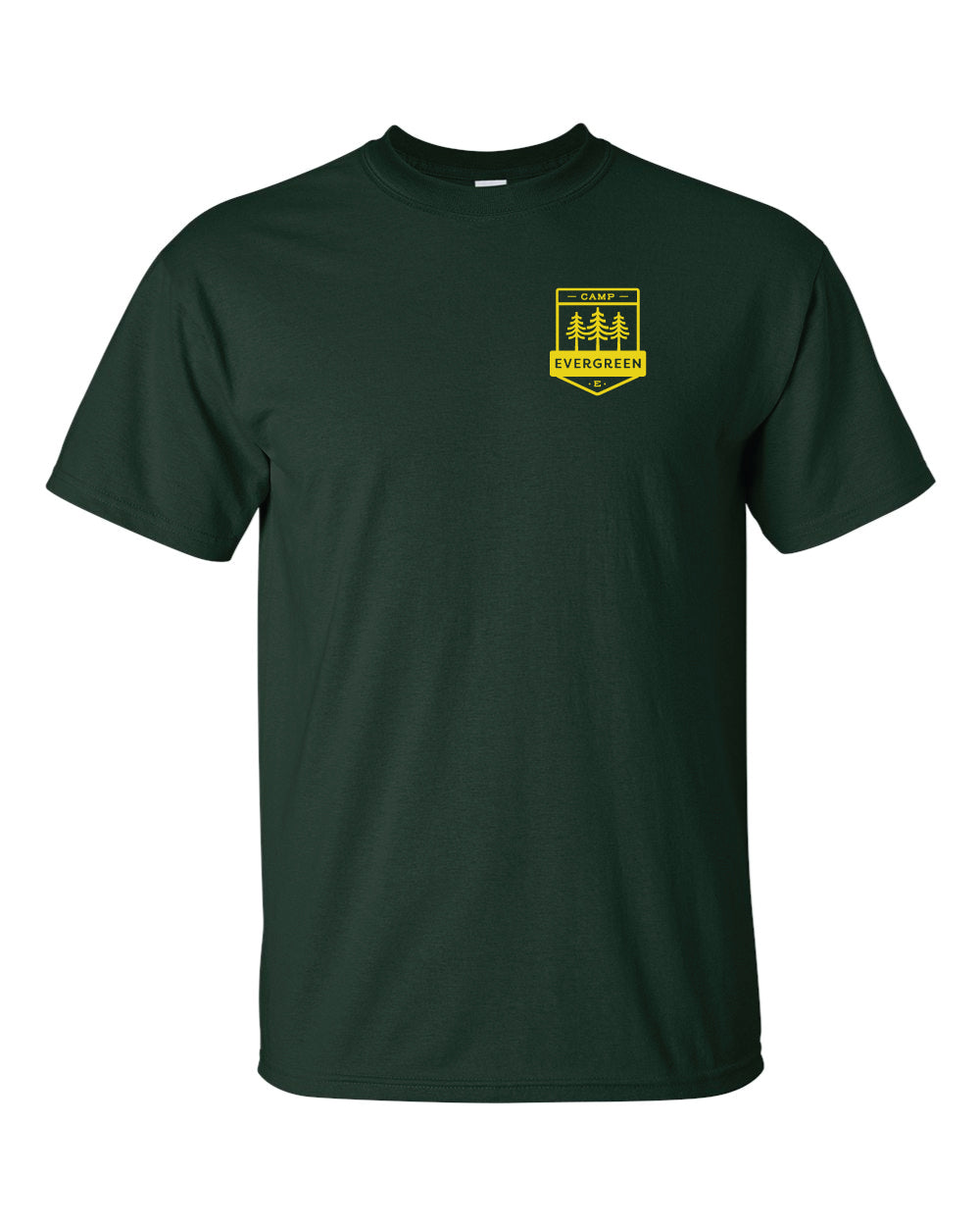 Camp Evergreen Green Uniform Tee