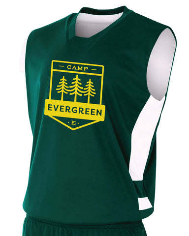 Camp Evergreen Reversible Basketball Jersey