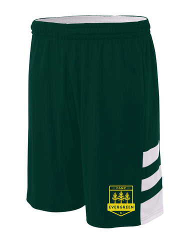 Camp Evergreen Reversible Basketball Shorts