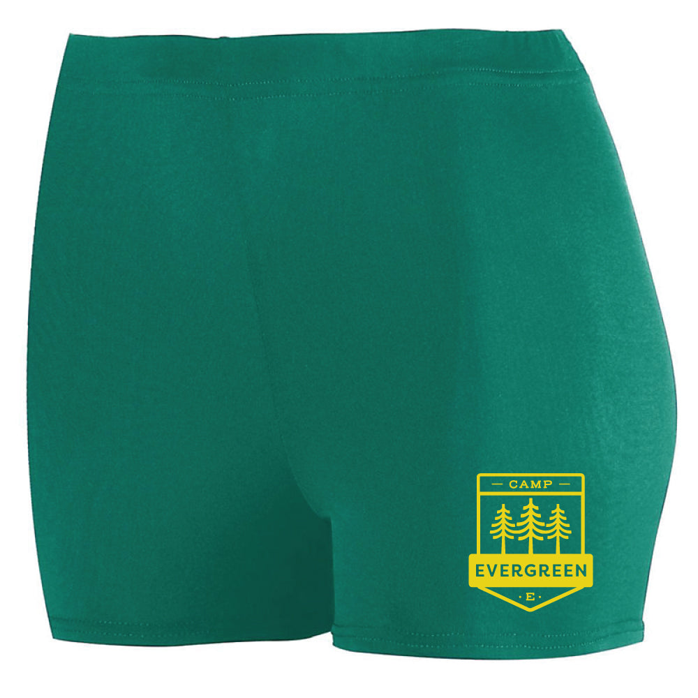 Camp Evergreen Spandex Shorts