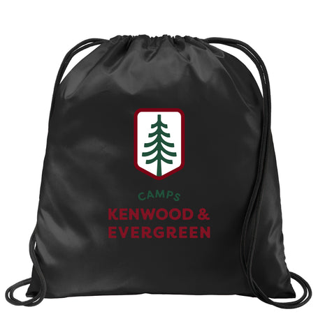 Camp Evergreen Cinch Sack