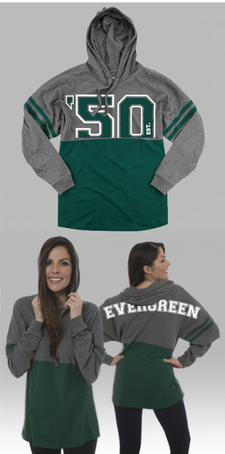 Camp Evergreen Pom Pom Hooded Jersey