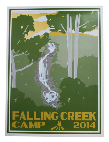 2014 Falling Creek Camp Poster