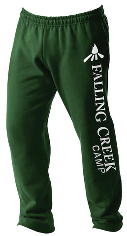 Falling Creek Camp Open Bottom Sweatpants