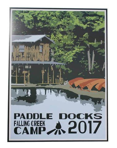 2017 Falling Creek Camp Poster
