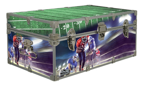 Designer Trunk - In Action Football - 32x18x13.5""