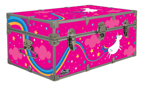 Designer Trunk - Unicorn Poo - 32x18x13.5""