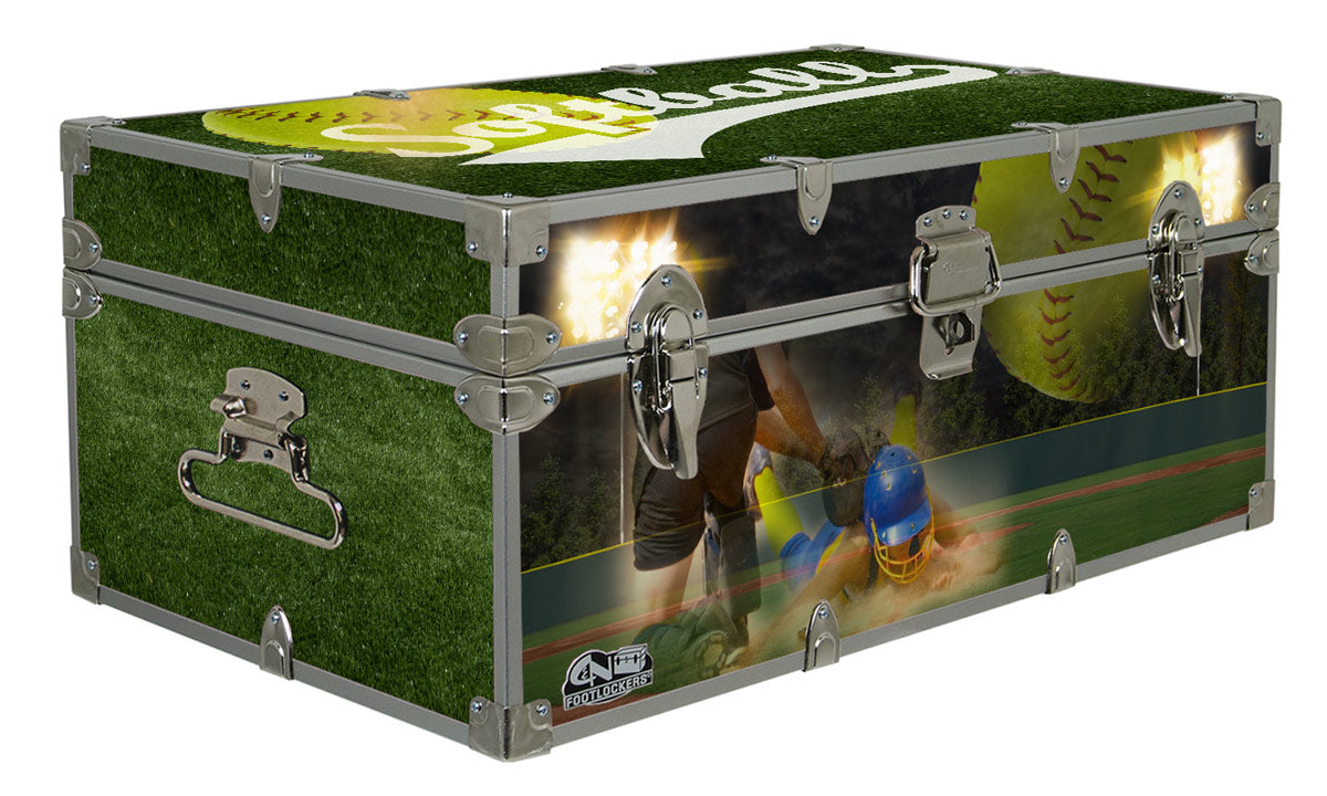 Designer Trunk - In Action Softball - 32x18x13.5""