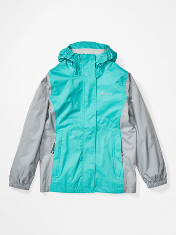 Girls' PreCip Eco Jacket|41010-3158S|41010-3158M|41010-3158L|41010-3158XL