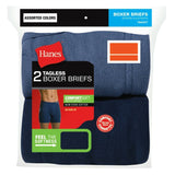 Hanes Underwear-Mens Boxer Briefs-2 pack