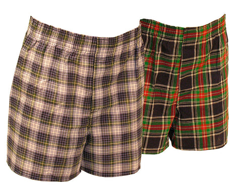 Hanes Underwear-Boys Woven Boxer-3 pack