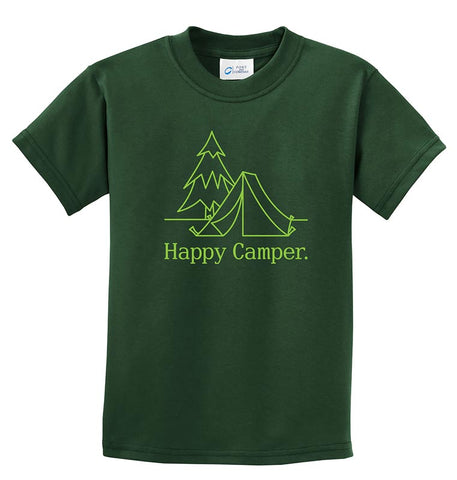 Life of Camp - Happy Camper Tee