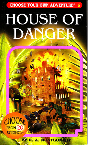 Choose Your Own Adventure-6 - House of Danger