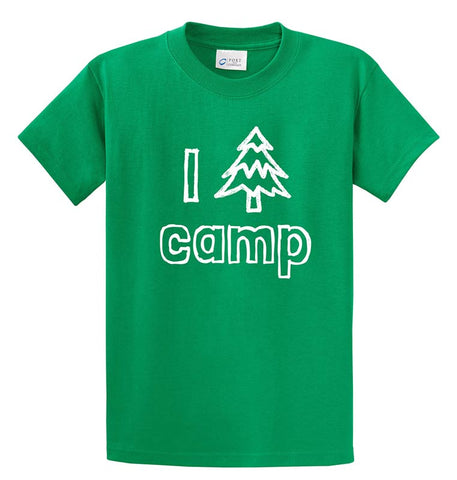 Life of Camp - I Tree Camp T-Shirt