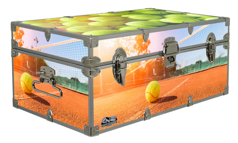 Designer Trunk - In Action Tennis - 32x18x13.5""