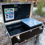 Happy Camper - Work at Home Footlocker Trunk - 32x18x13.5""