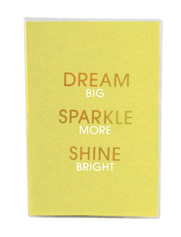 Iscream Dream Glitter Metallic Journal|724846