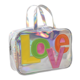 iScream Large Love Patch Cosmetic Bag