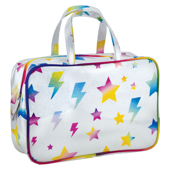 iScream Large Stars and Lightning Cosmetic Bag