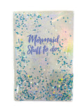 iScream Mermaid Floating Glitter Journal