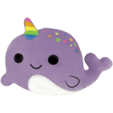 iScream Narwhal Scented Embroidered Pillow