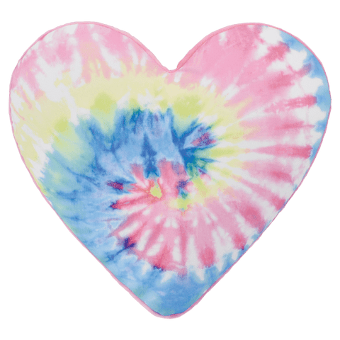 iScream Pastel Tie Dye Heart Scented Pillow