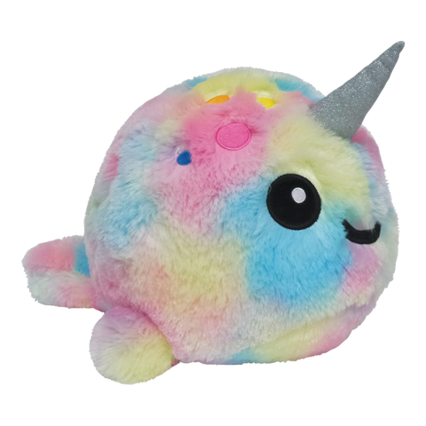 iScream Tie Dye Narwhal Scented Pillow